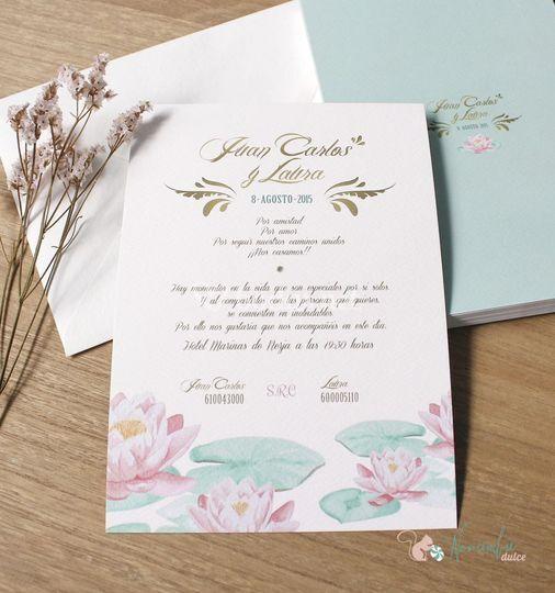 Invitación colecciçon botánic