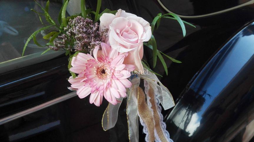 Adornos florales naturales