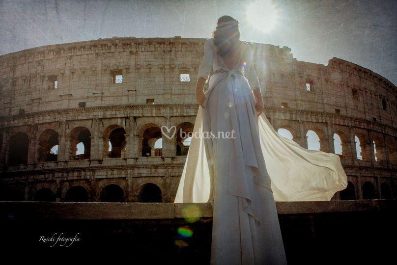 El coliseum de Roma