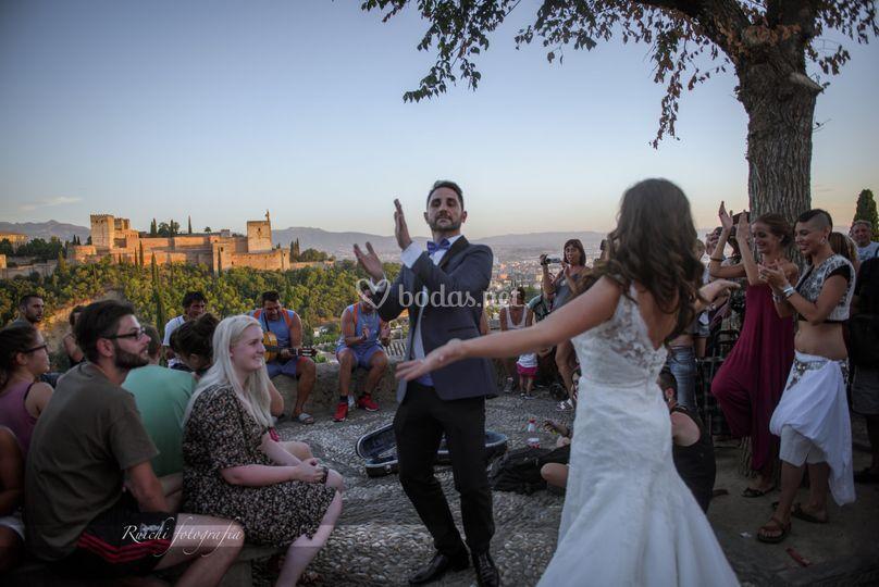 Granada, boda