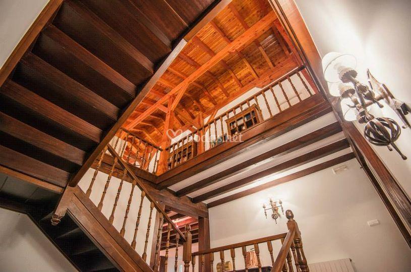 Escalinata central