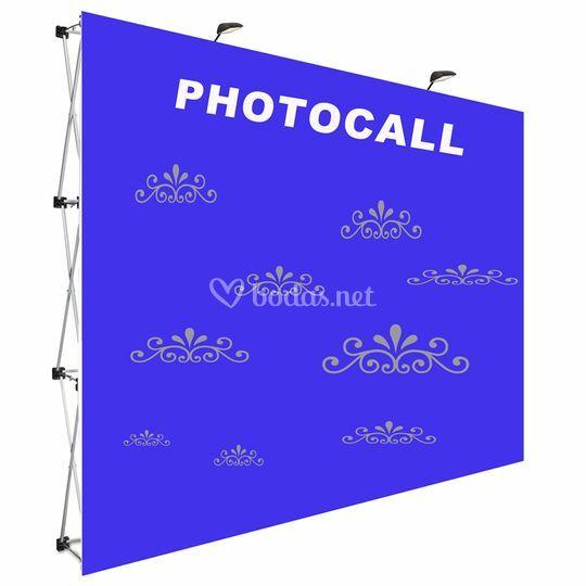 Photocal para bodas téxtil