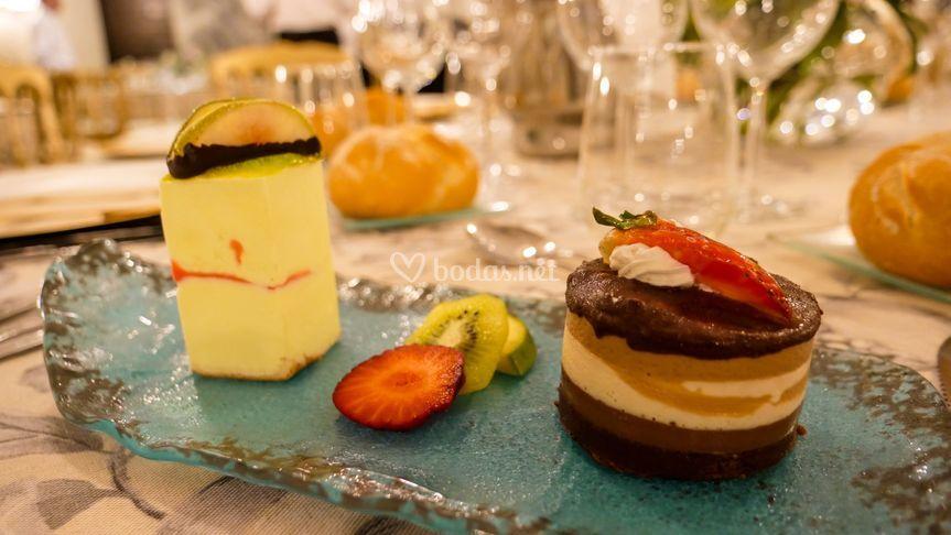 Carrot cake y dama lima