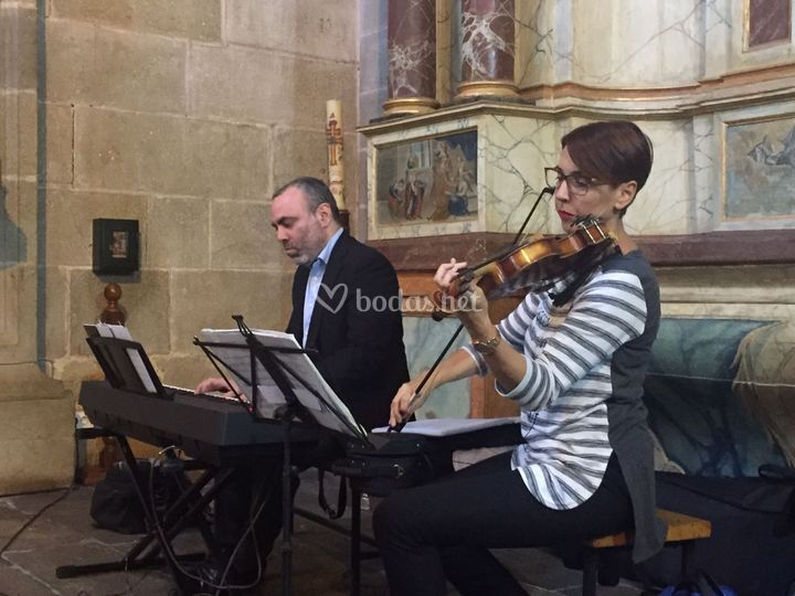 Dúo de piano y violín