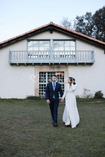 Reportaje de boda en Bizkaia