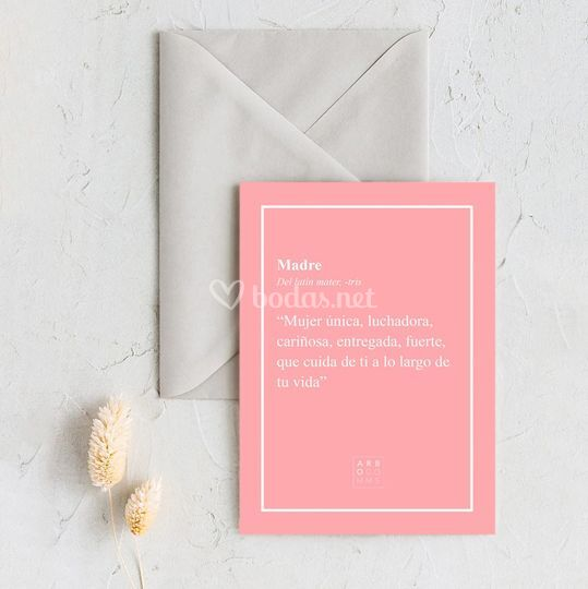 Tarjeta felicitación 'Rose'