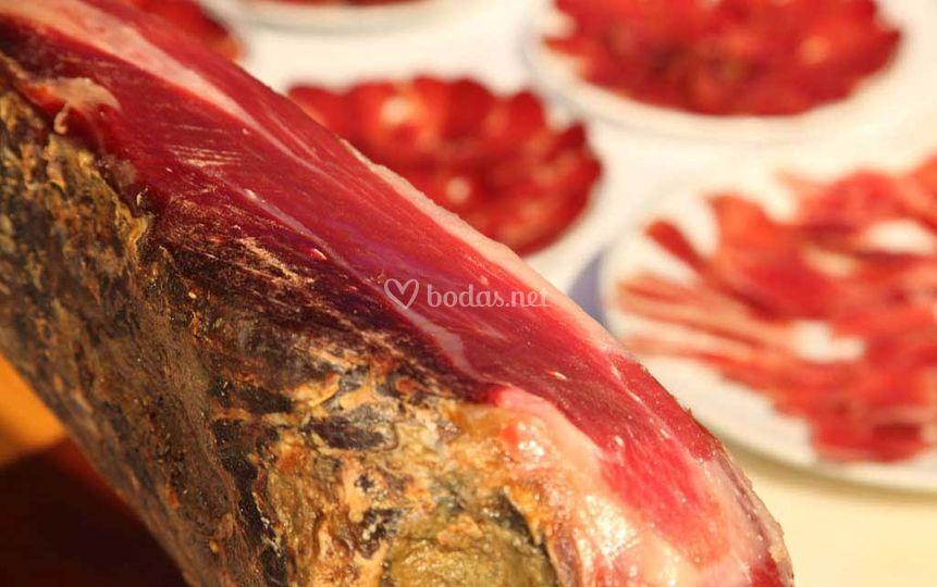Corte de jamón