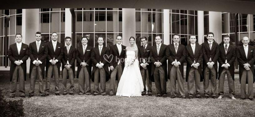 La novia y sus amigos