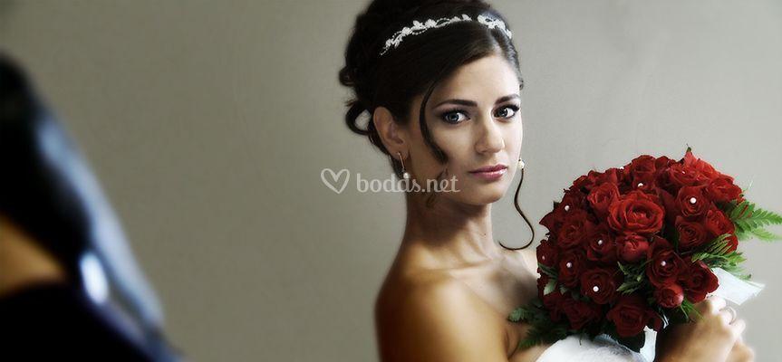 Fotograma de la sesión a la novia