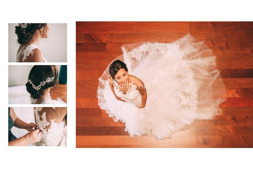 Ari y su vestido ^^