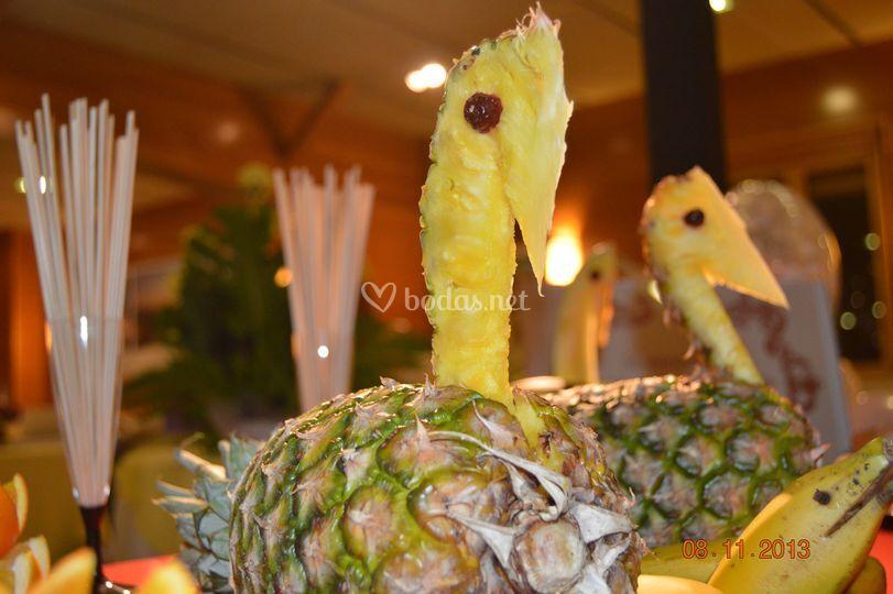 Decoracion de fruta