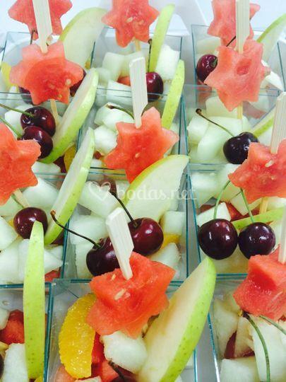 Vasitos de frutas