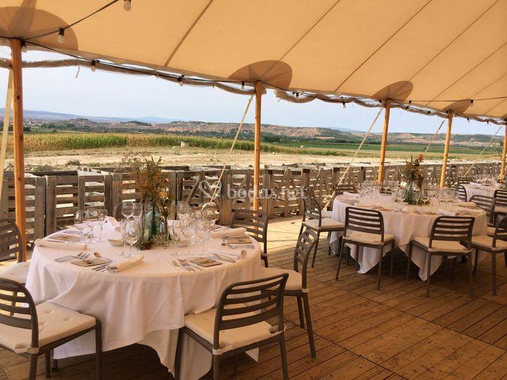 Vistas al Valle del Ebro