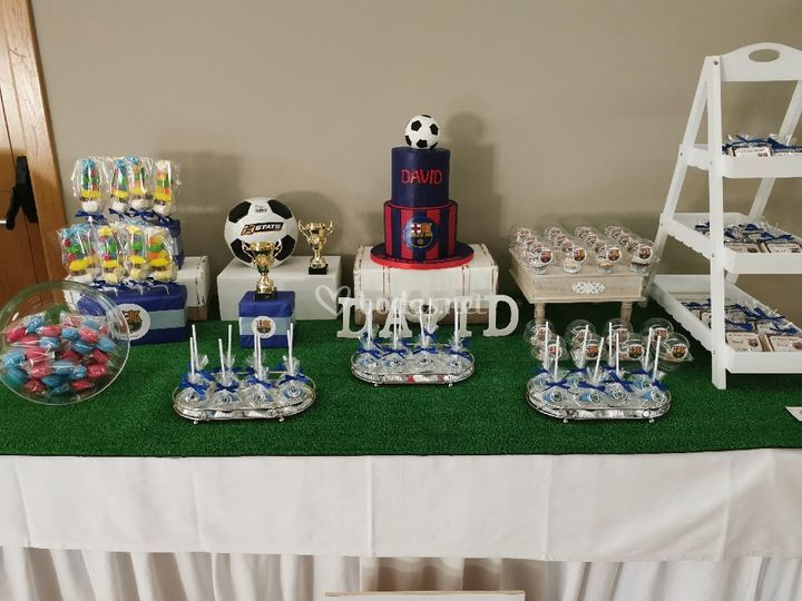 Mesa dulce de comunión