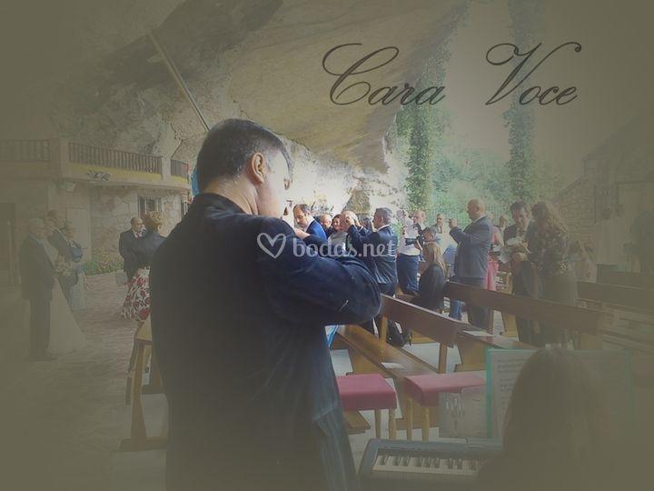 Violín, piano y voz