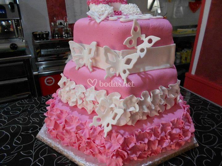 Otra vista de la tarta