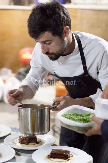 Preparación cocina