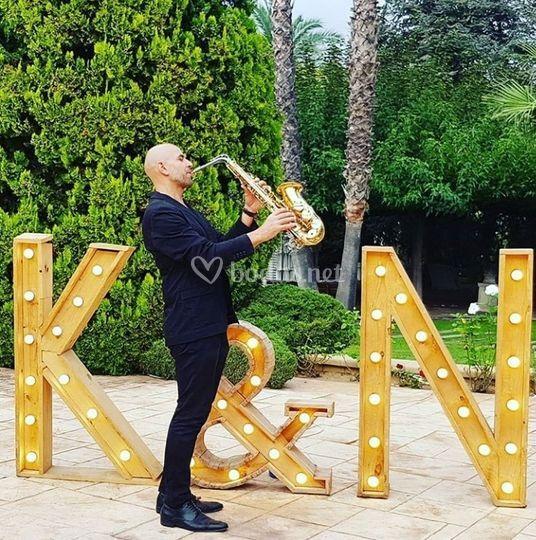 Saxofonista para tud boda