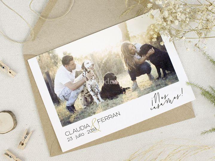 Invitación - Postcard