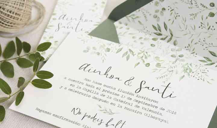 Invitación - Botánica Verde