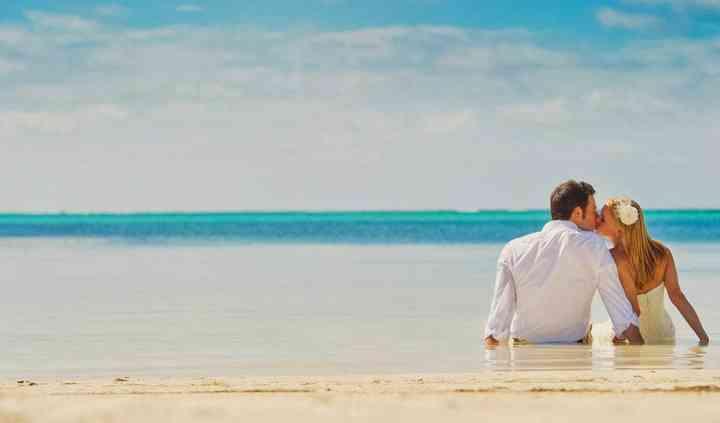 Romanticismo en la playa