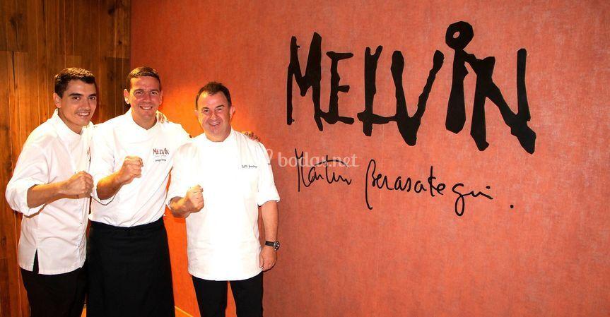 Melvin by Martin Berasategui