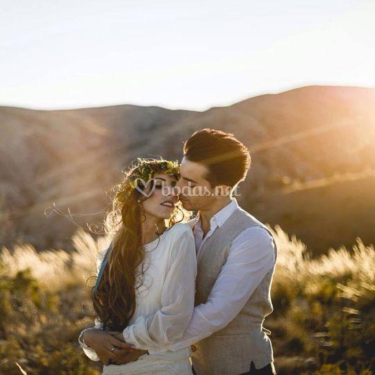 Peinado de novia y novio