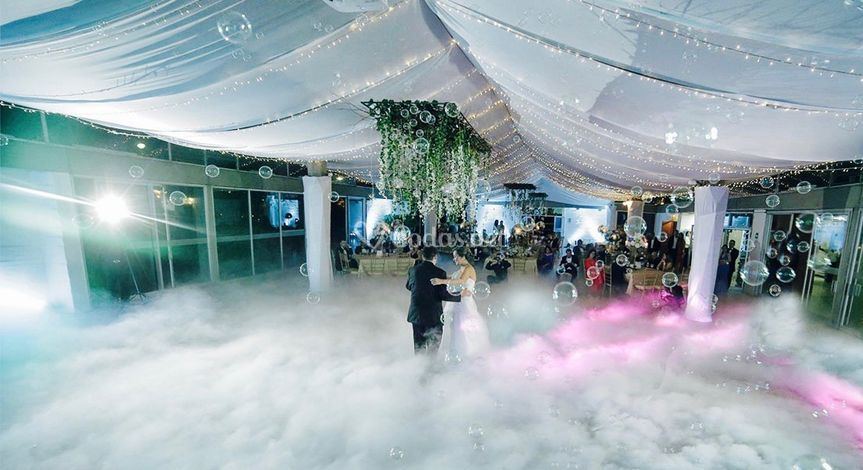 Máquina de humo para baile