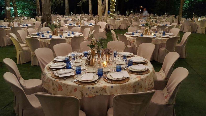Banquete al aire libre de El Raposo