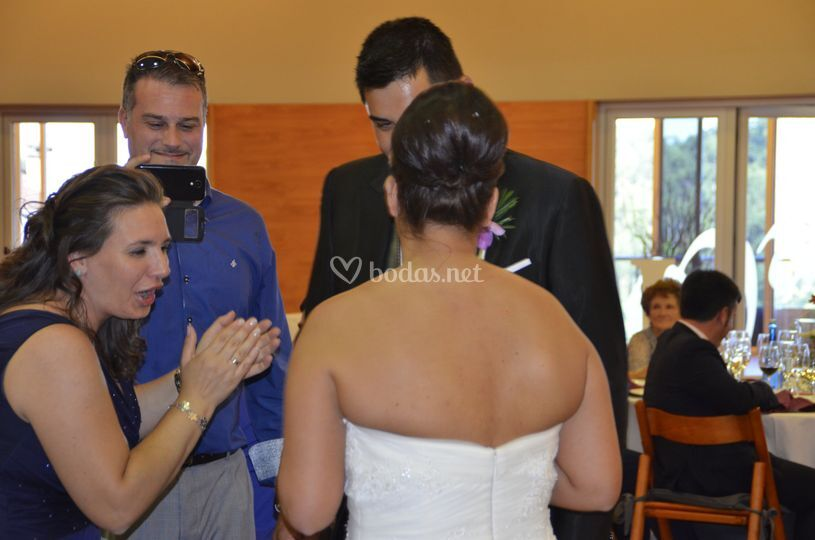 Recogido novia alto
