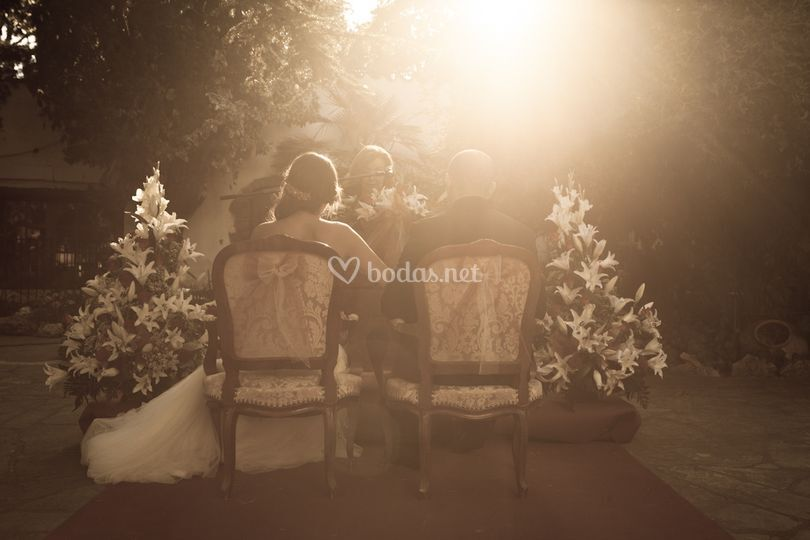 Una ceremonia íntima