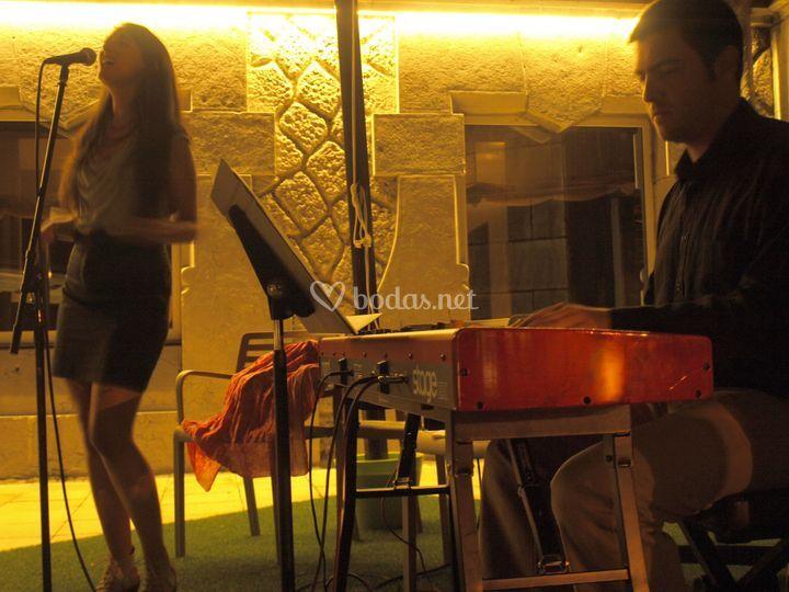 Carla Sevilla y Marcos Salcine