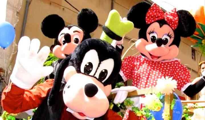 Goofy, Mickey & Minnie