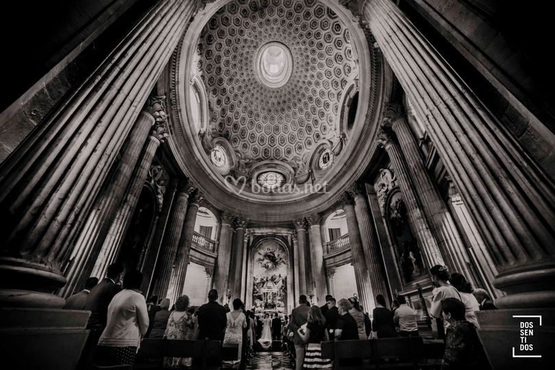 Boda en la Catedral de Jaén