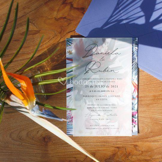 Invitación Mohana