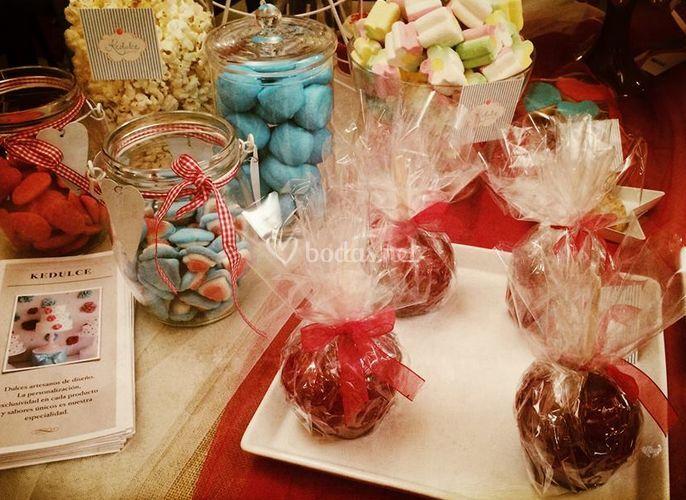 Productos de la mesa dulce