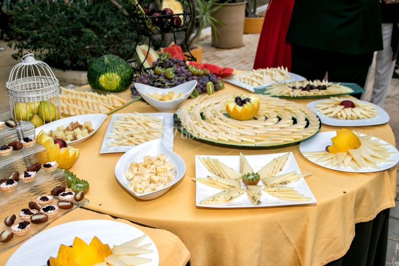 Buffet de quesos (fotos alba)