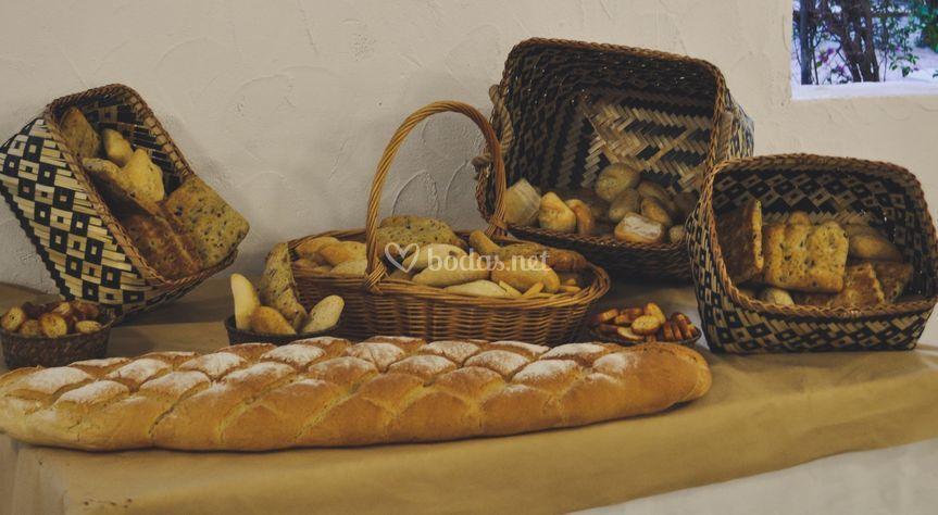 Mesa de panes