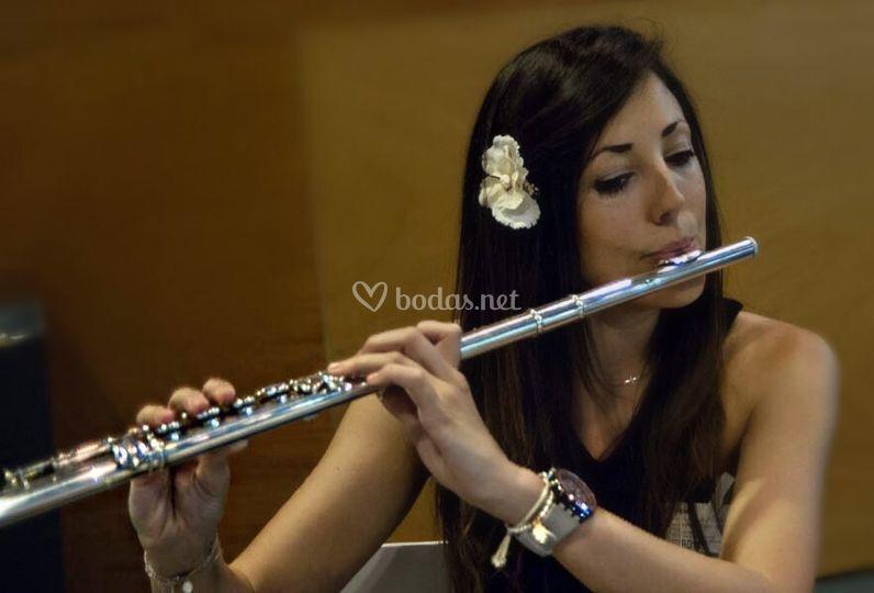 Nuestra flautista