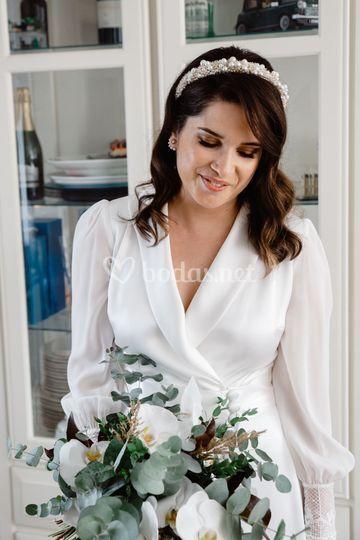 Retrato natural de la novia