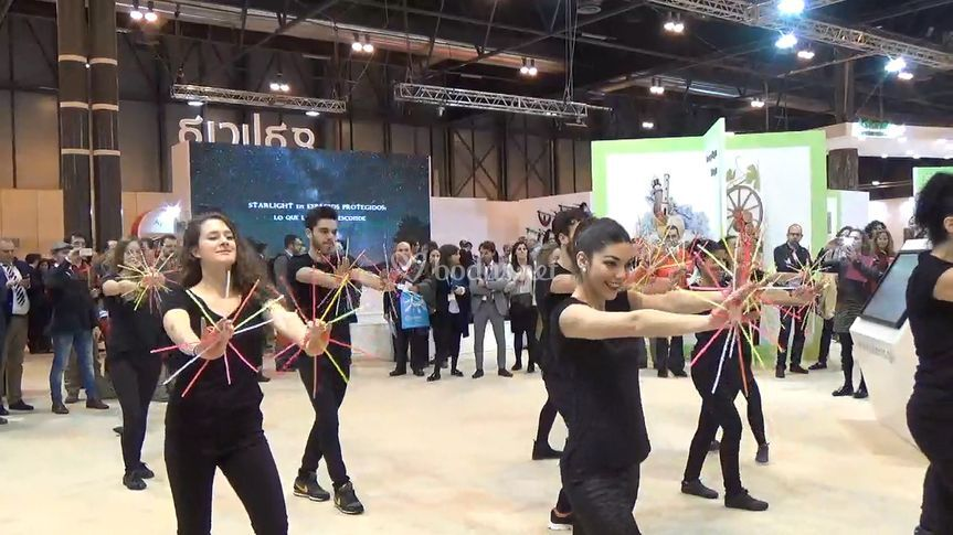 Flashmob en FITUR