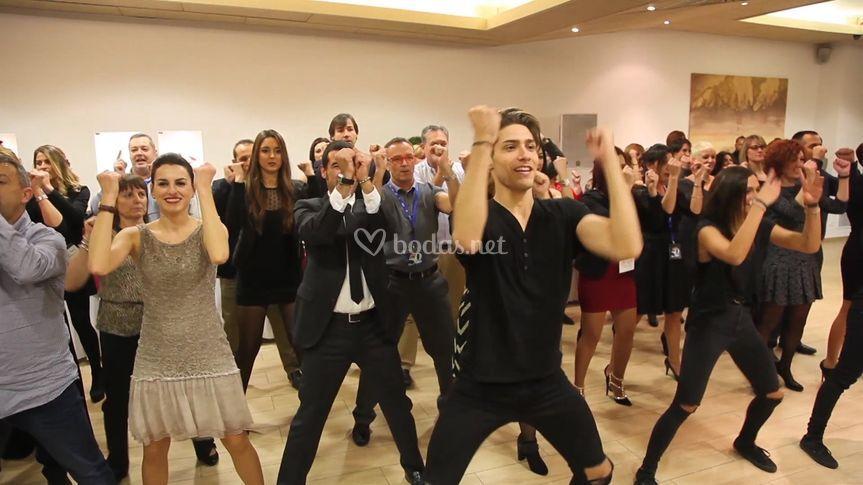 Flashmob en Banquete