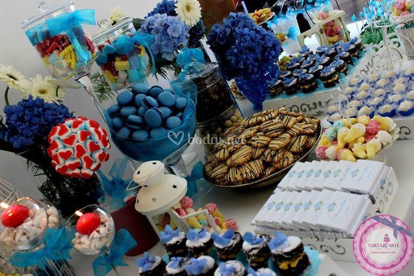 Mesa dulce de boda