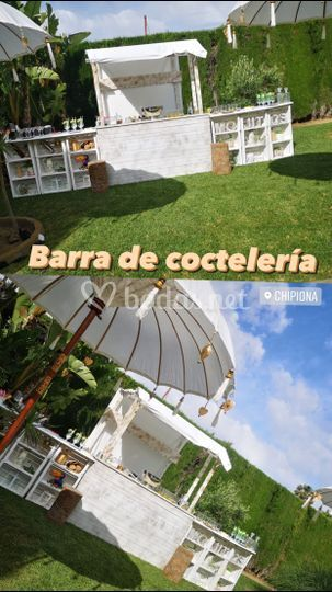 Barra de coctelería