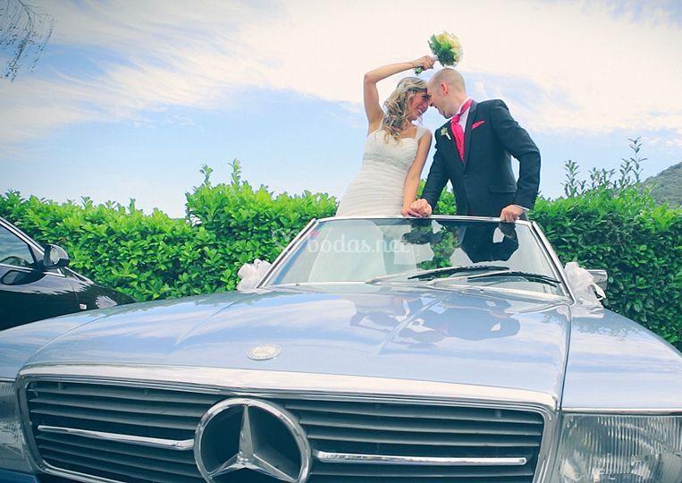 Un Mercedes clásico