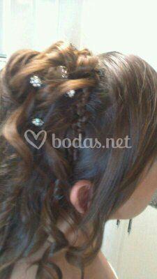 Detalle peinado