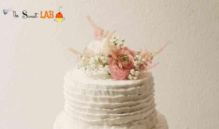 Tarta de boda sin fondant