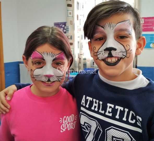 Pintacaras nines & kids