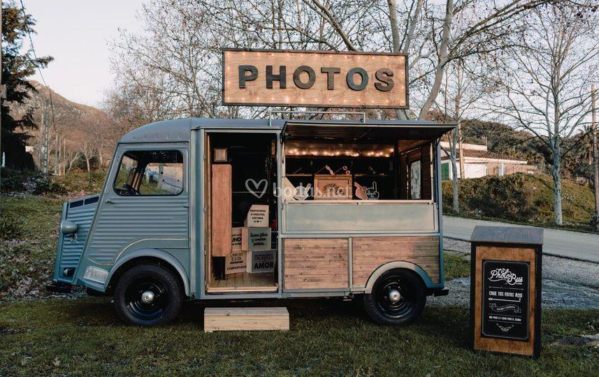 Fotomatón en furgoneta Citroën