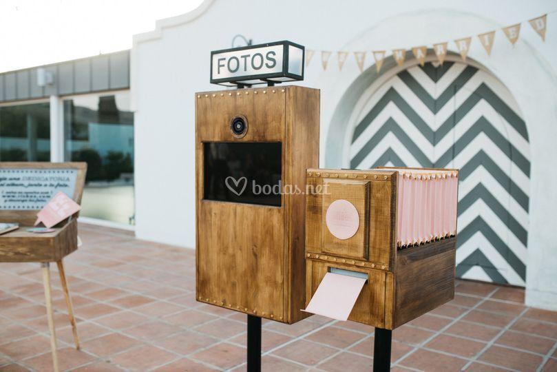 Fotomatón vintage risbox